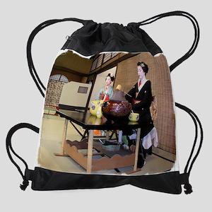Geisha7 Drawstring Bag