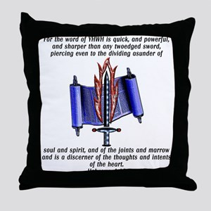 Twoedged Sword Throw Pillow