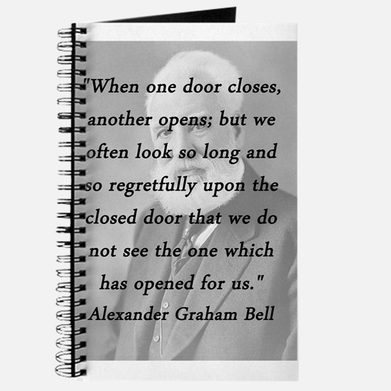 Alexander Graham Bell Quotes   Alexander Graham Bell Quote Notebooks Alexander Graham Bell Quote