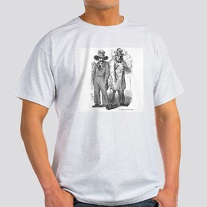 Vintage Bad Guys Shady Cartoon Light T-Shirt