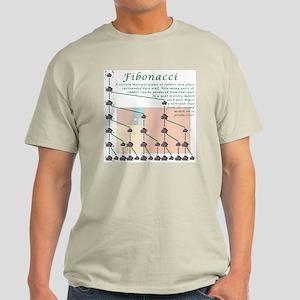 Fibonacci Light Color T-Shirt