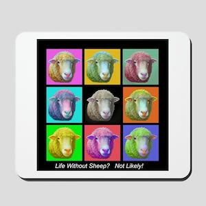 Mousepad with sheep Art!