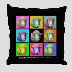 Throw Pillow~Sheep Pop Art