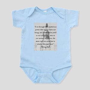 Sitting Bull - Mysterious Power Infant Bodysuit