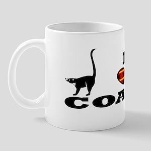 """I Heart Coati's"" Mug"