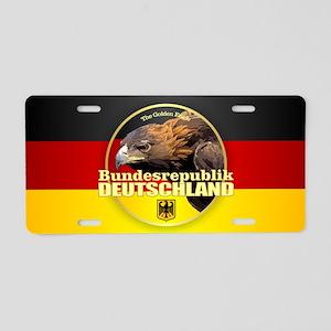 German Eagle Aluminum License Plate