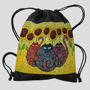 2-gatos Drawstring Bag
