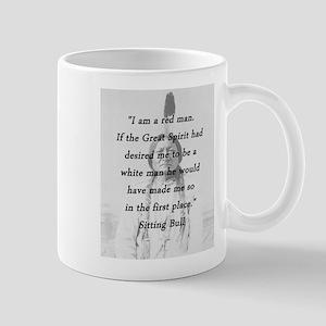 Sitting Bull - Red Man 11 oz Ceramic Mug