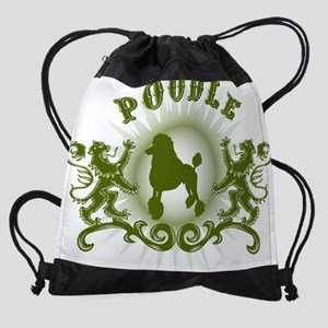 poodle standardD Drawstring Bag