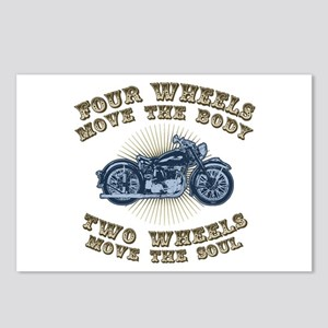 2 Wheels Move IV Postcards (Package of 8)
