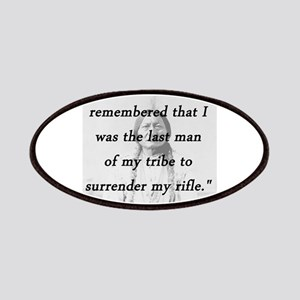 Sitting Bull - Surrender My Rifle Patch