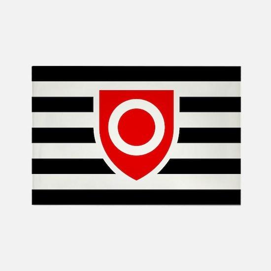 Ownership Flag Rectangle Magnet