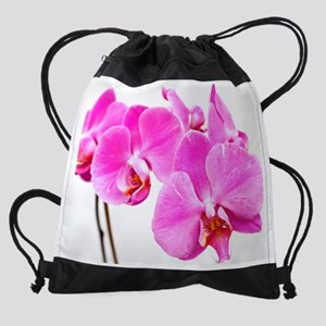 Orchid flowers Drawstring Bag