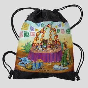 cerdo calendar.jpg Drawstring Bag