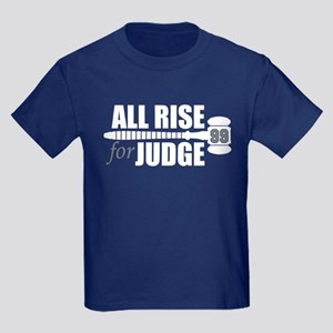 All Rise For Judge Kids T-Shirt (front/back)