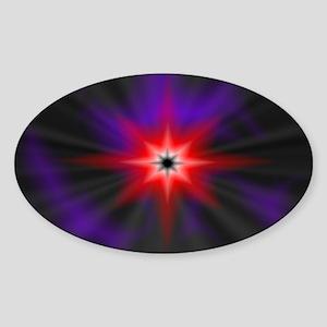 Darkstar Oval Sticker