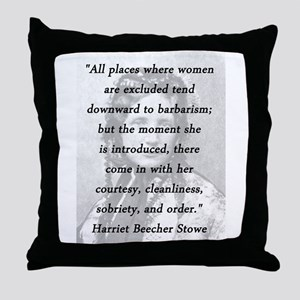 Stowe - All Places Throw Pillow