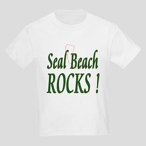 Seal Beach Rocks ! Kids T-Shirt