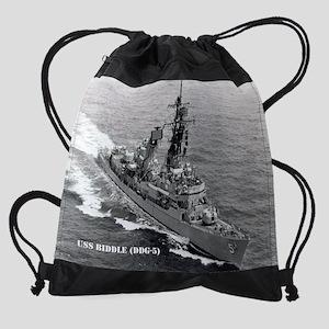 3-biddle ddg calendar Drawstring Bag