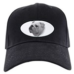 Bulldog Black Cap