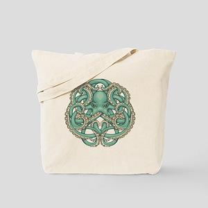 Octopus Emblem Tote Bag