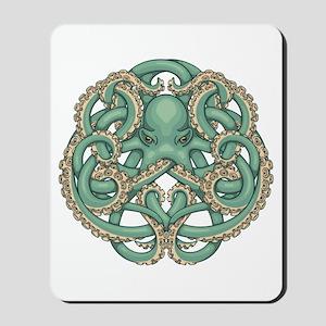 Octopus Emblem Mousepad