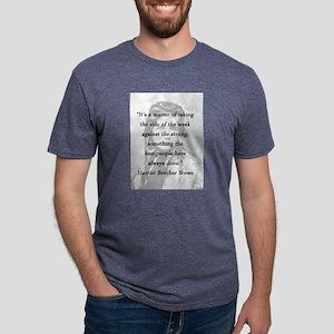 Stowe - Matter of Taking Mens Tri-blend T-Shirt