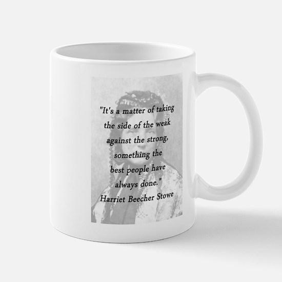 Stowe - Matter of Taking Mug