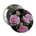 Think Pink Roses Button