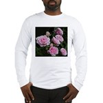 Think Pink Roses Long Sleeve T-Shirt