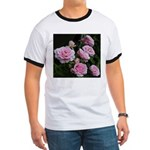 Think Pink Roses Ringer T