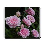 Think Pink Roses Mousepad