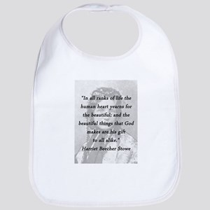 Stowe - Ranks of Life Cotton Baby Bib