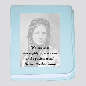 Stowe - Superstitious baby blanket