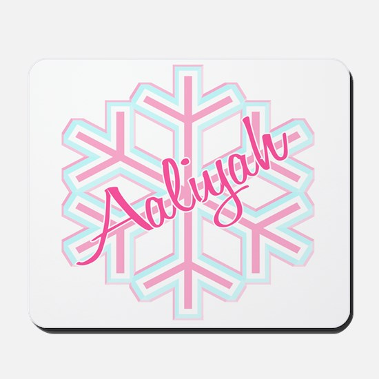Snowflake Aaliyah Mousepad