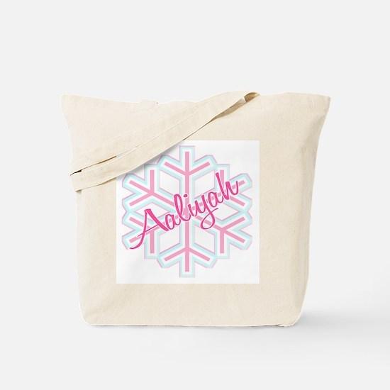 Snowflake Aaliyah Tote Bag