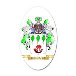 Bernardeschi 20x12 Oval Wall Decal