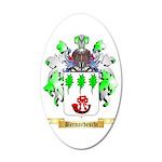 Bernardeschi 35x21 Oval Wall Decal