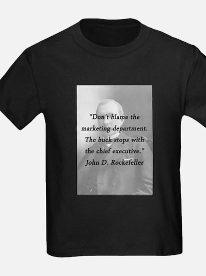 Rockefeller - Marketing Department T