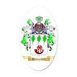 Bernardelli Oval Car Magnet