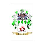 Bernardeau Sticker (Rectangle 50 pk)