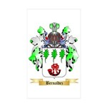 Bernaldez Sticker (Rectangle 50 pk)