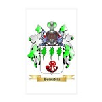 Bernadzki Sticker (Rectangle 50 pk)