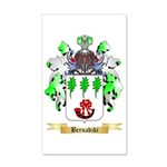 Bernadzki 35x21 Wall Decal
