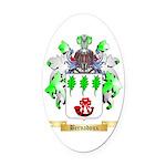 Bernadoux Oval Car Magnet