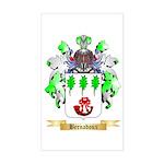 Bernadoux Sticker (Rectangle)