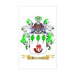 Bernadotte Sticker (Rectangle)