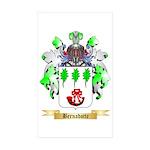 Bernadotte Sticker (Rectangle 50 pk)