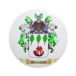 Bernadotte Ornament (Round)