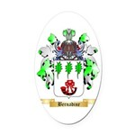 Bernadine Oval Car Magnet